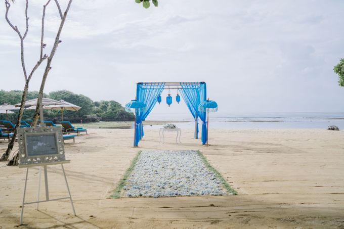 Elopement Wedding by Courtyard by Marriott Bali Nusa Dua - 004