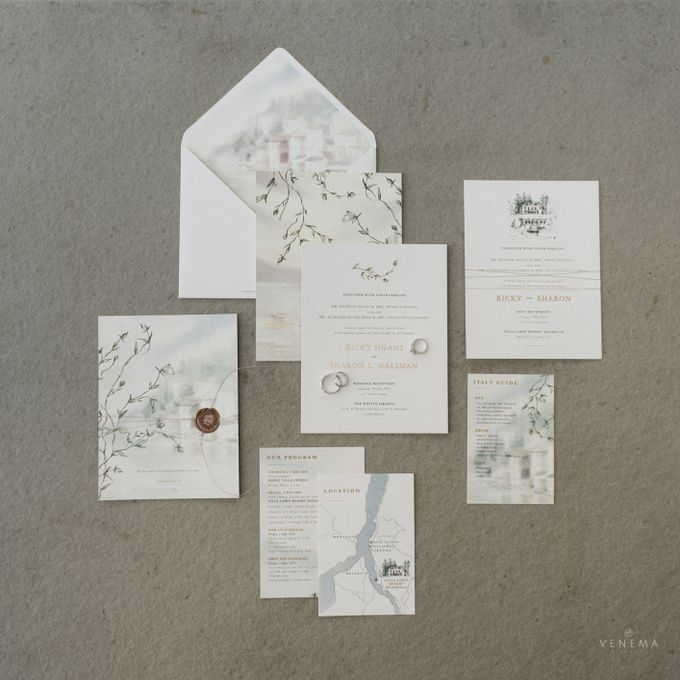 Ricky & Sharon Lake Como Wedding by Venema Pictures - 003