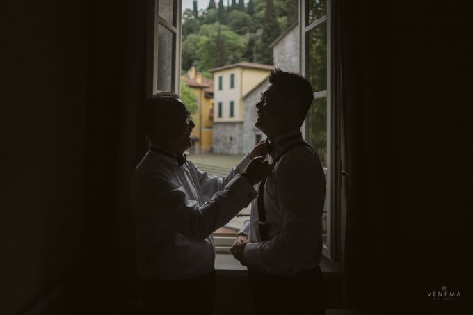 Ricky & Sharon Lake Como Wedding by Venema Pictures - 015
