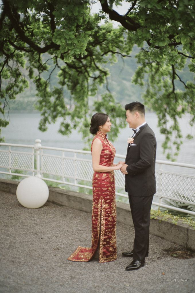 Ricky & Sharon Lake Como Wedding by Venema Pictures - 032