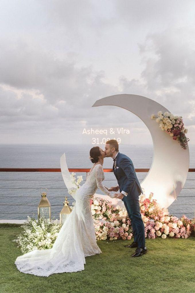 Wedding Asheeq & Vira by Bali Izatta Wedding Planner & Wedding Florist Decorator - 009