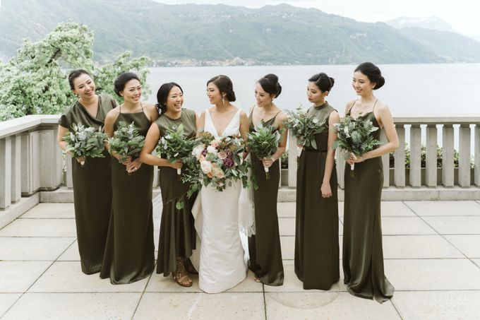 Ricky & Sharon Lake Como Wedding by Venema Pictures - 041