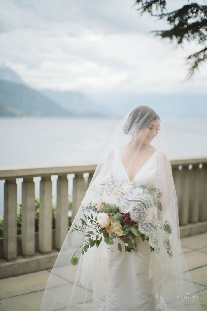 Ricky & Sharon Lake Como Wedding by Venema Pictures - 039