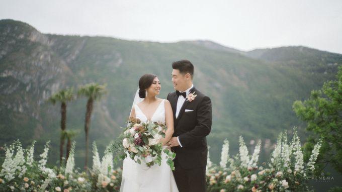 Ricky & Sharon Lake Como Wedding by Venema Pictures - 043