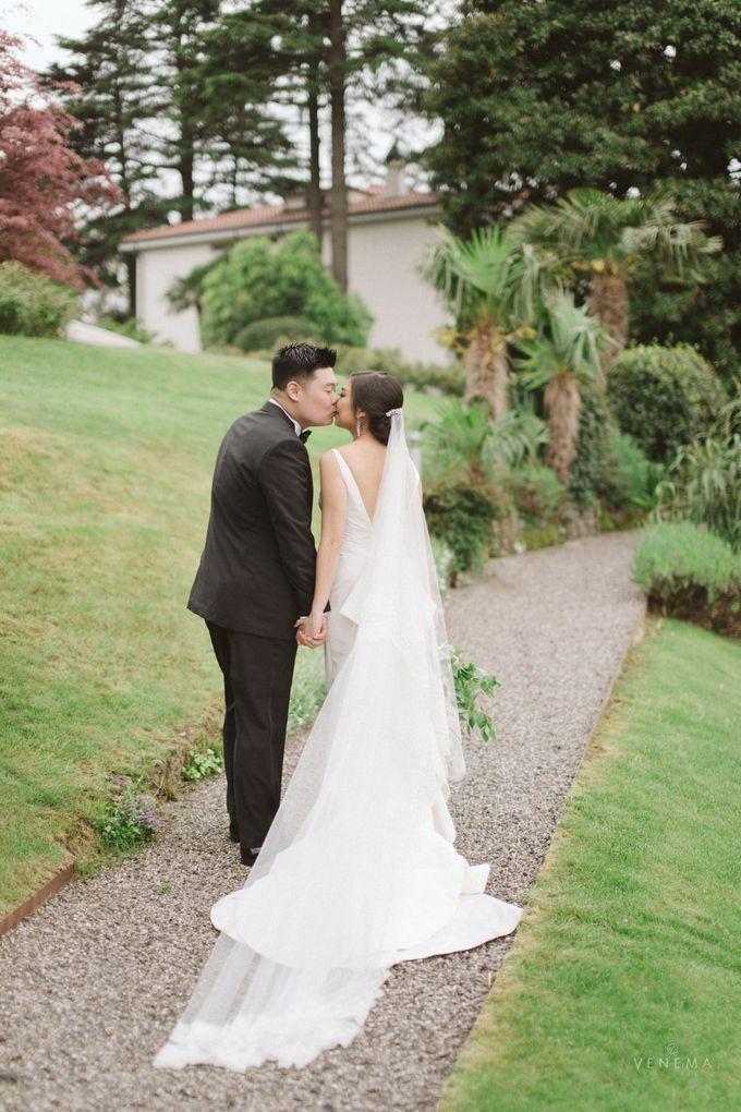 Ricky & Sharon Lake Como Wedding by Venema Pictures - 045