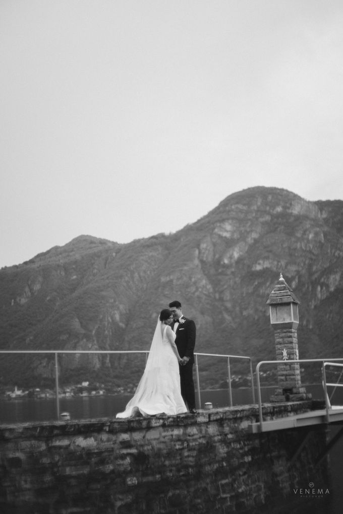 Ricky & Sharon Lake Como Wedding by Venema Pictures - 047