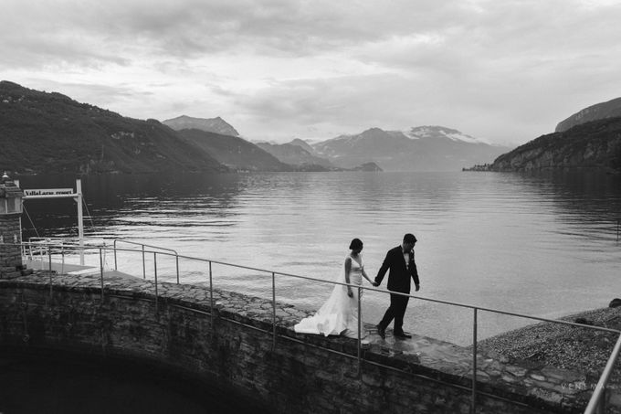 Ricky & Sharon Lake Como Wedding by Venema Pictures - 048