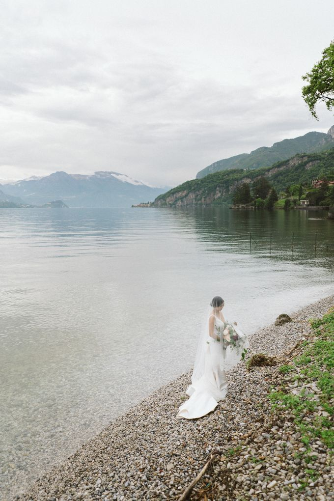 Ricky & Sharon Lake Como Wedding by Venema Pictures - 038
