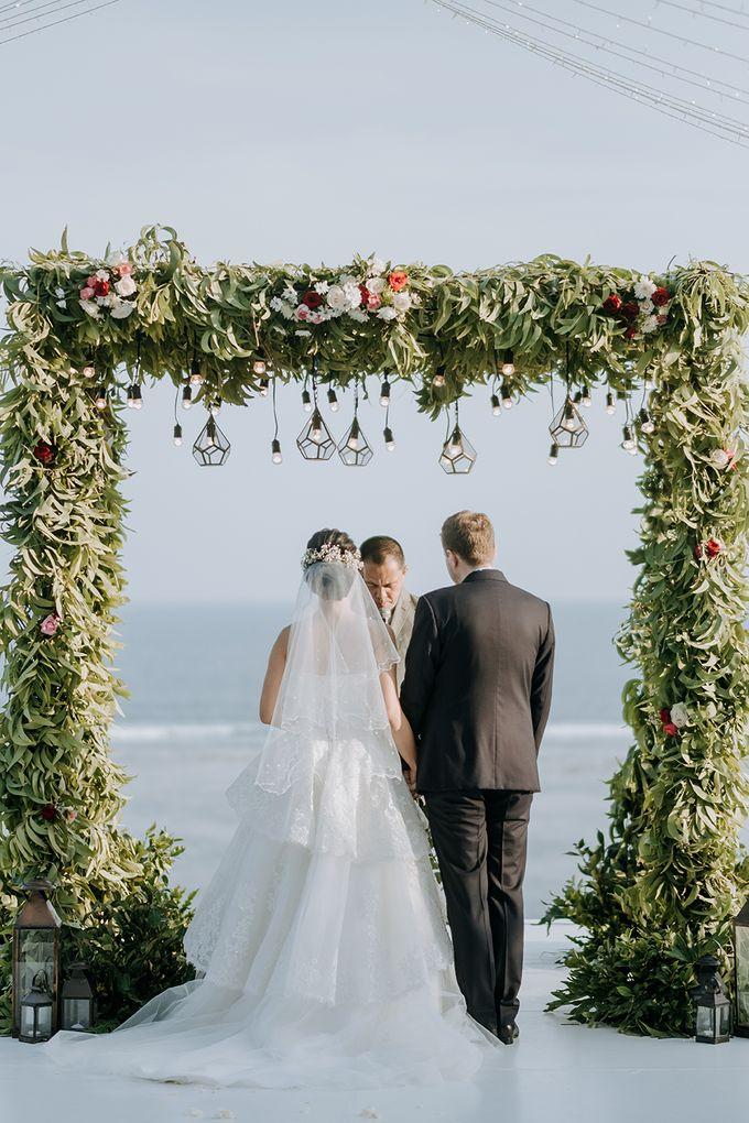 Wedding of  Nilam & Lukas Ganz by Nika di Bali - 005