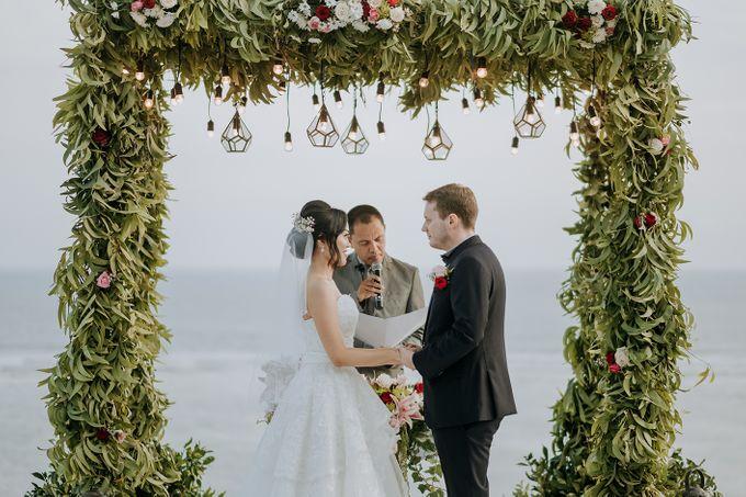Wedding of  Nilam & Lukas Ganz by Nika di Bali - 006