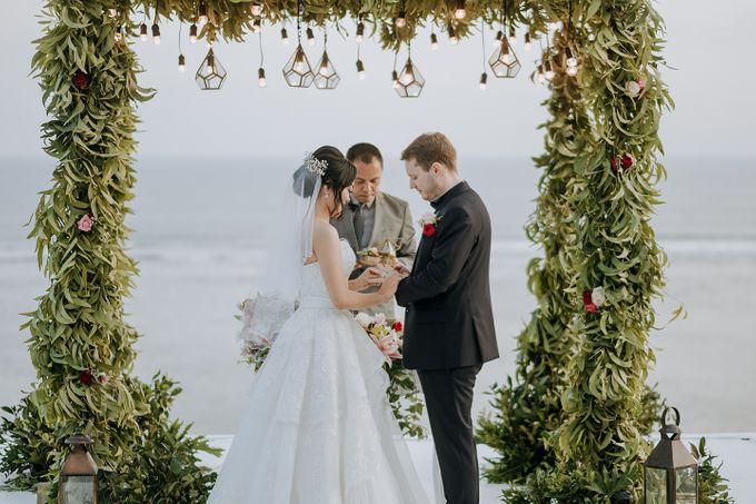 Wedding of  Nilam & Lukas Ganz by Nika di Bali - 007