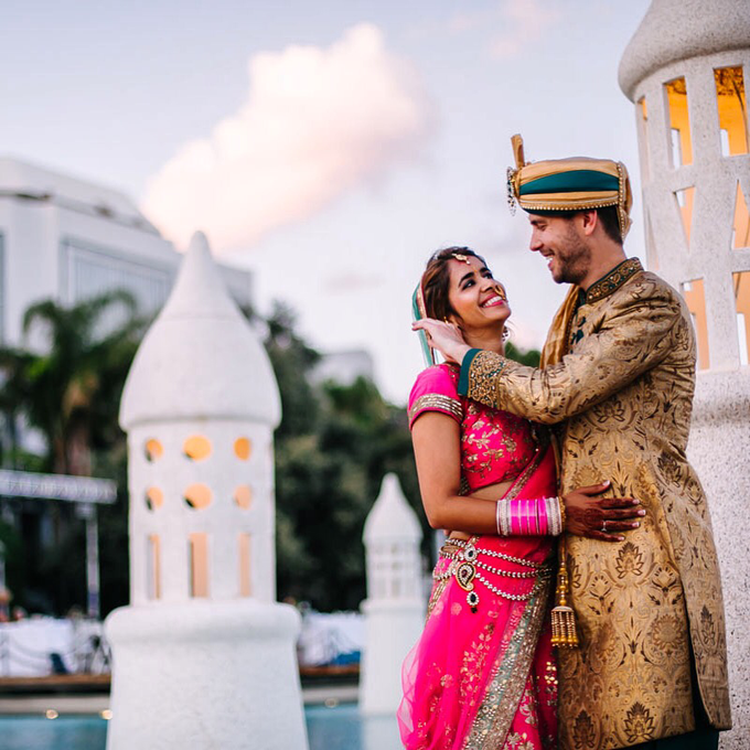 Indian Wedding in Bodrum by Nilyum Wedding & Event Design - 003