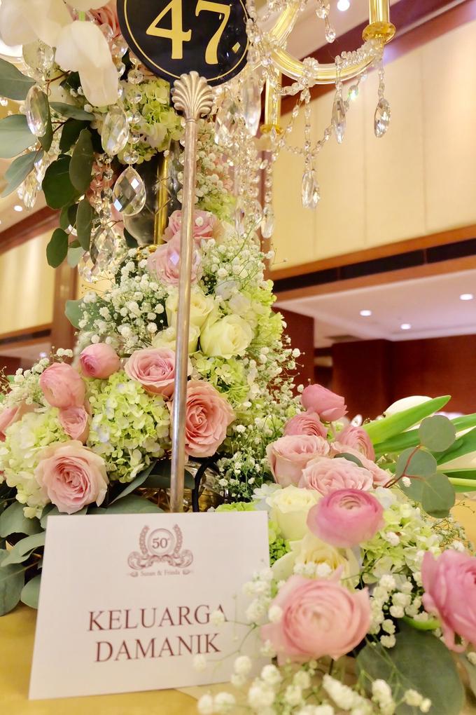 50th Wedding Anniversary  by Hotel Borobudur Jakarta - 004