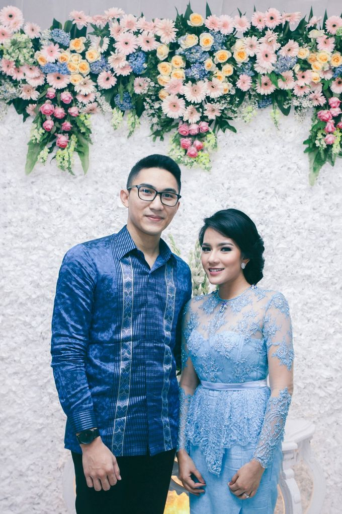 Paper Blue Engagement for Ageng & Nissya by Warna Project - 007