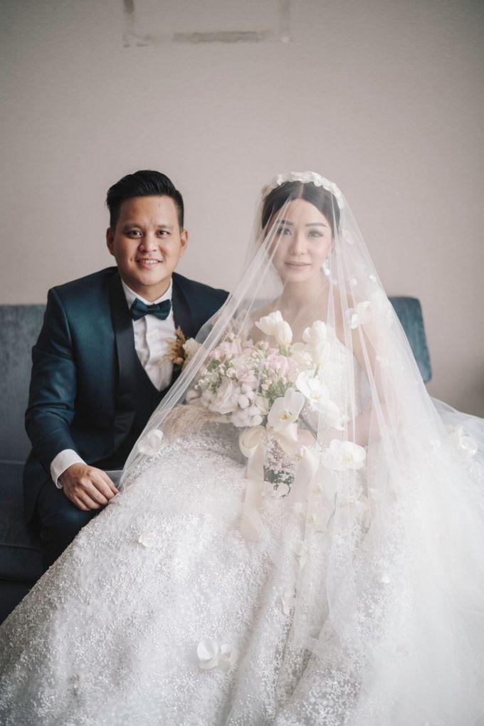 Adit & Tata Wedding at Hilton by PRIDE Organizer - 014