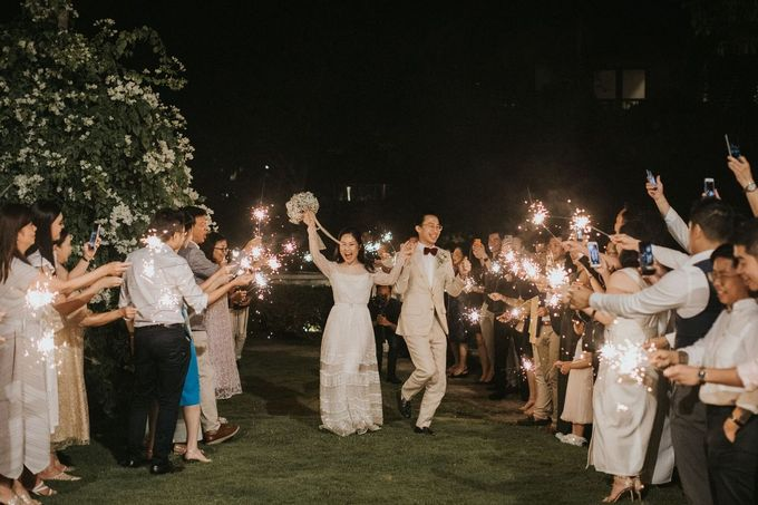Chris & Calista Real Wedding at The Stone House by Tirtha by Tirtha Bridal - 042
