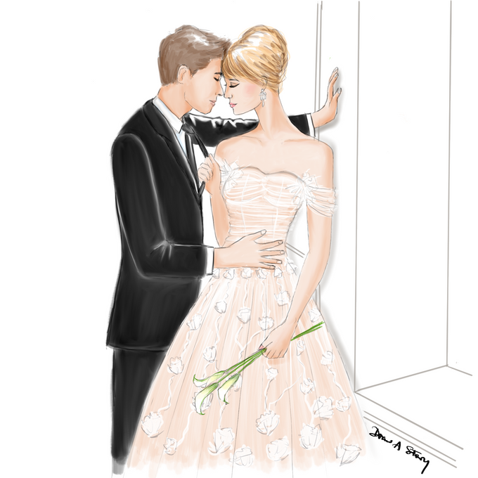 Bridal Illustrations by Draw A Story - 004