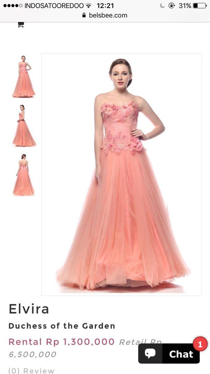 Dress For Rent by elvira brides - 007