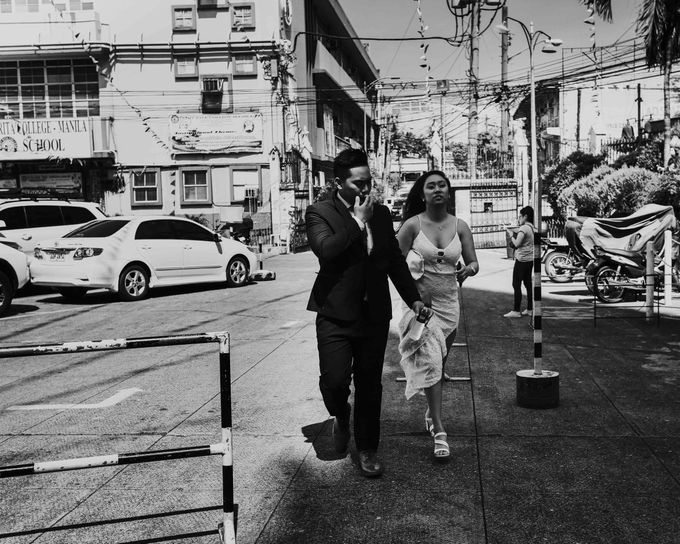 A fun wedding with a young couple based in singapore. by Thinking Chair Studios - 030