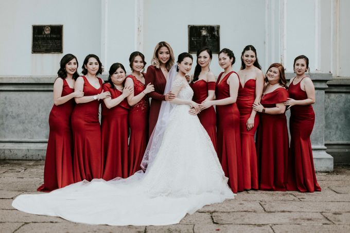 A fun wedding with a young couple based in singapore. by Thinking Chair Studios - 033