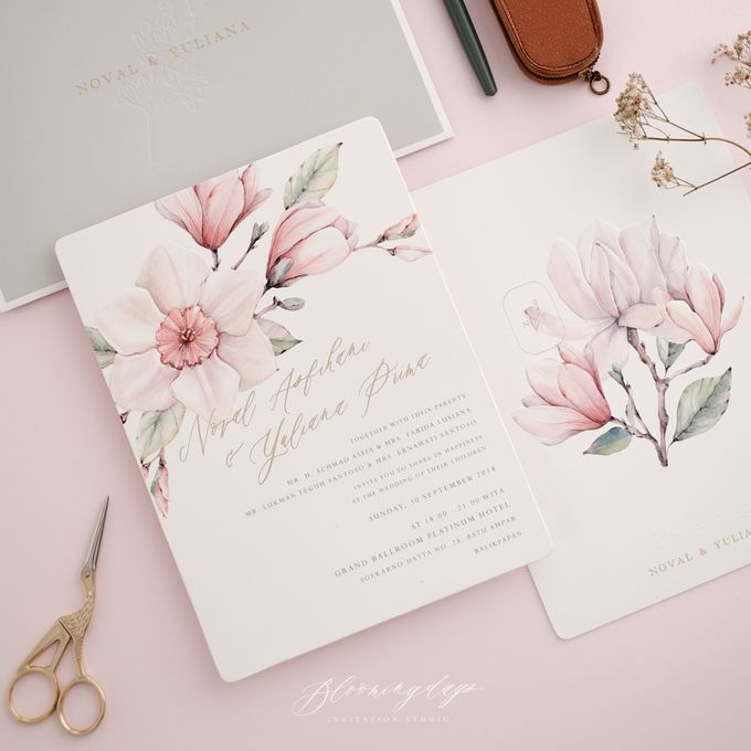 MY PROMISE TO YOU by BloomingDays Invitation Studio - 001