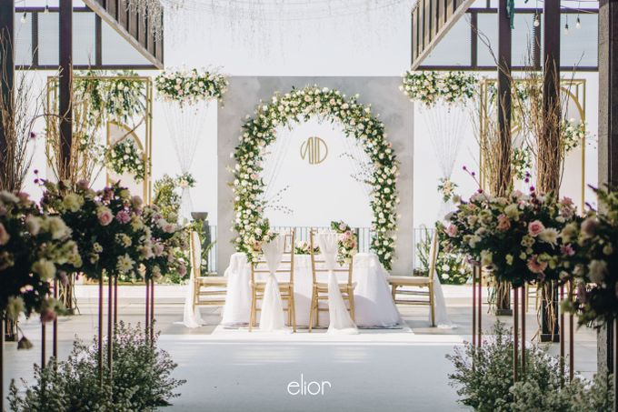 The Wedding of Novilia & Didik by Elior Design - 020