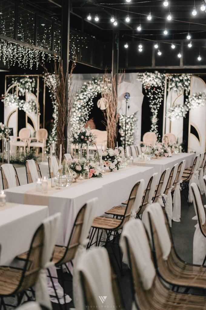 The Wedding of Novilia & Didik by Elior Design - 026
