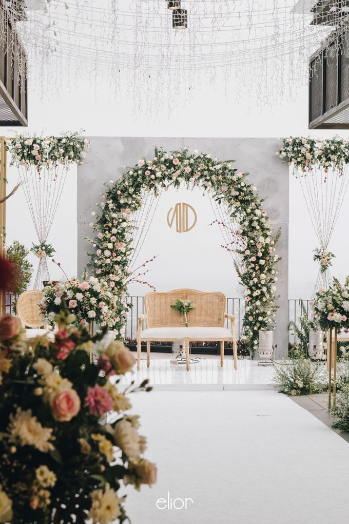 The Wedding of Novilia & Didik by Elior Design - 029