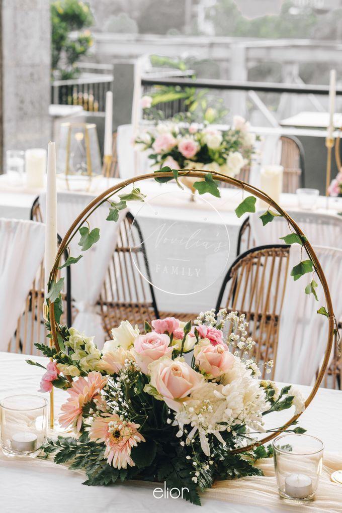 The Wedding of Novilia & Didik by Elior Design - 030