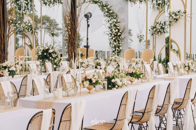 The Wedding of Novilia & Didik by Elior Design - 031