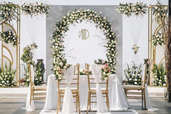 The Wedding of Novilia & Didik by Elior Design - 022