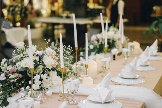 The Wedding of Novilia & Didik by Elior Design - 032