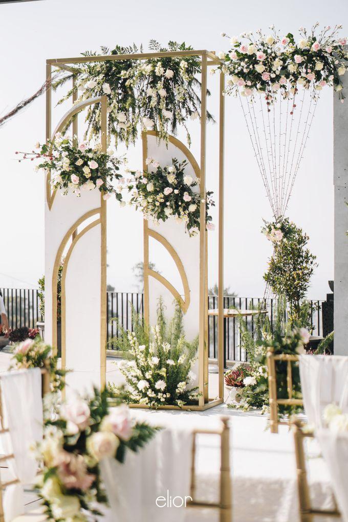 The Wedding of Novilia & Didik by Elior Design - 023