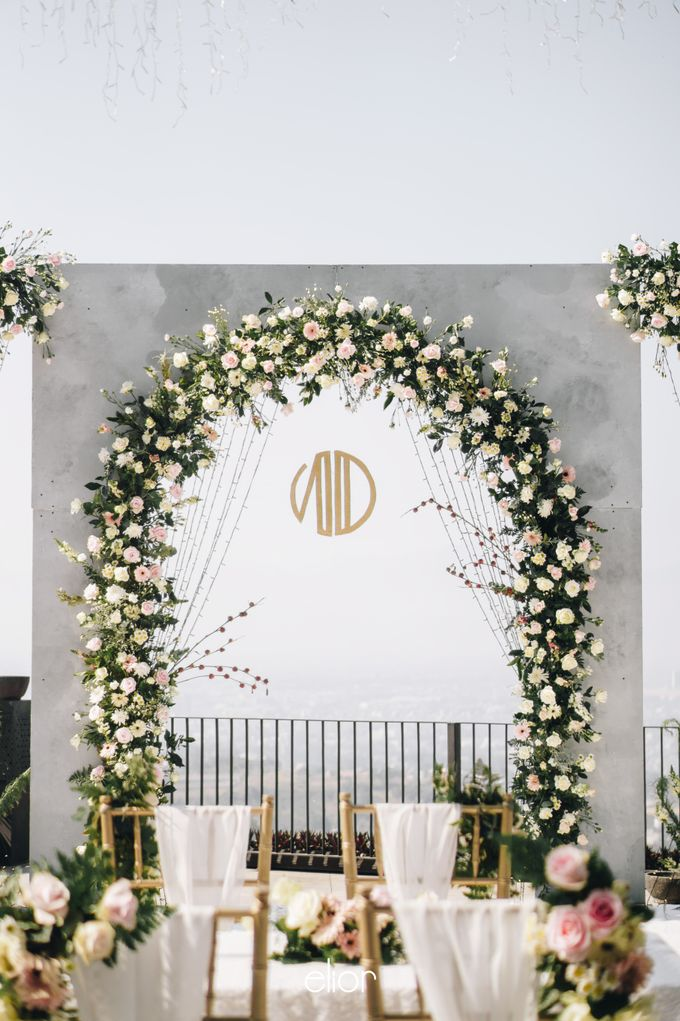 The Wedding of Novilia & Didik by Elior Design - 024