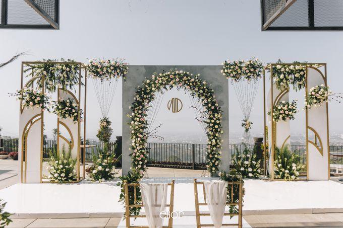 The Wedding of Novilia & Didik by Elior Design - 025