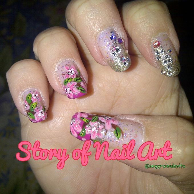 Painting Nails by Story of Nailart - 019