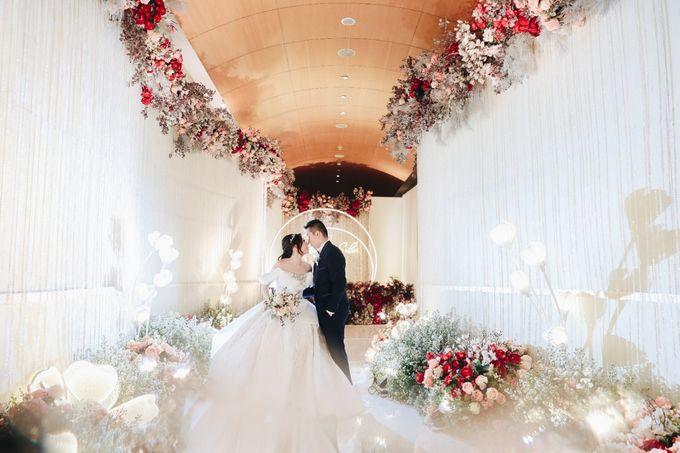 William & Selvi Wedding at Hilton Hotel by PRIDE Organizer - 034