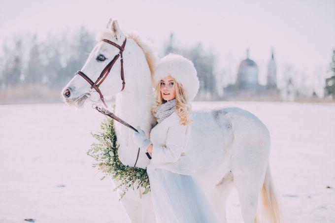 Wedding In Gzhel Style by Marina Nazarova Photographer - 029