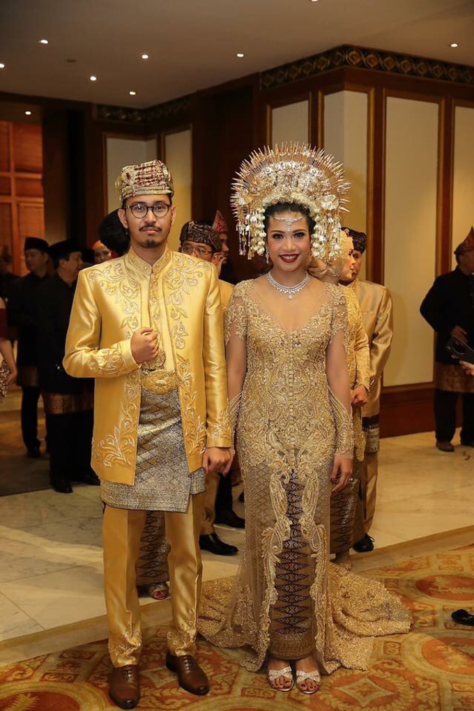 The Wedding - Ayu & Adli by The Dharmawangsa Jakarta - 009