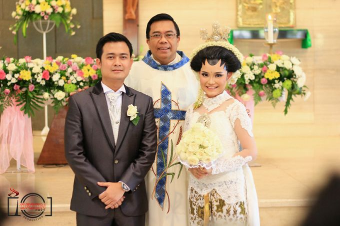 Monic + Dicky Wedding (Holy Matrimony) by Orion Art Production - 011