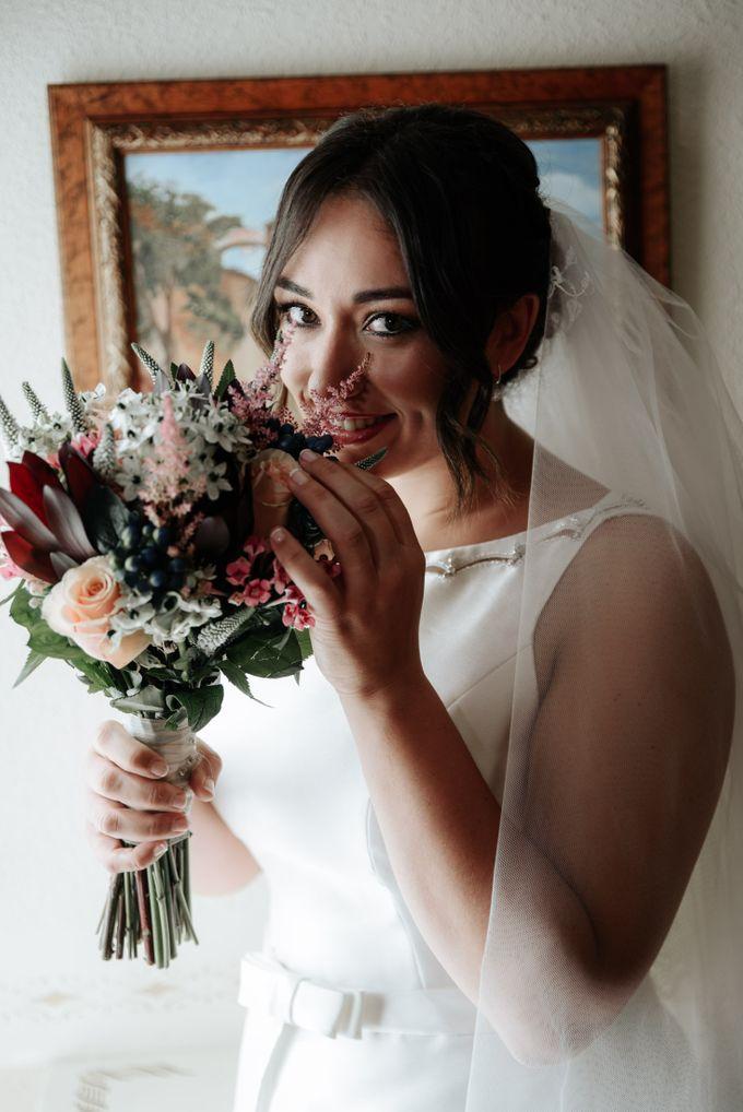 Arancha y Dany wedding in Salamanca of Spain by WedFotoNet - 004