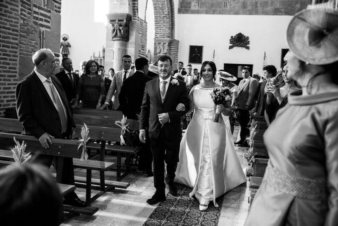 Arancha y Dany wedding in Salamanca of Spain by WedFotoNet - 007
