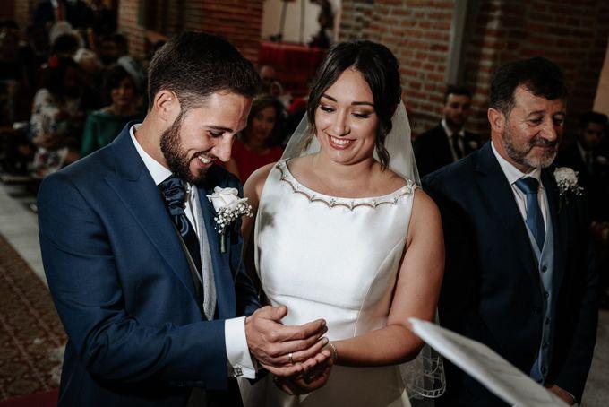 Arancha y Dany wedding in Salamanca of Spain by WedFotoNet - 008