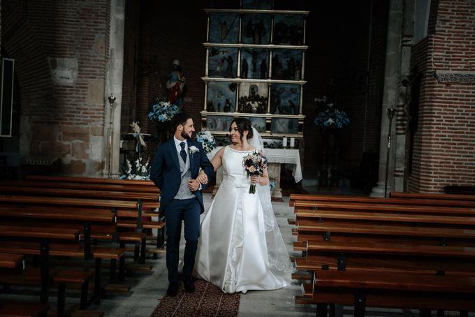 Arancha y Dany wedding in Salamanca of Spain by WedFotoNet - 009