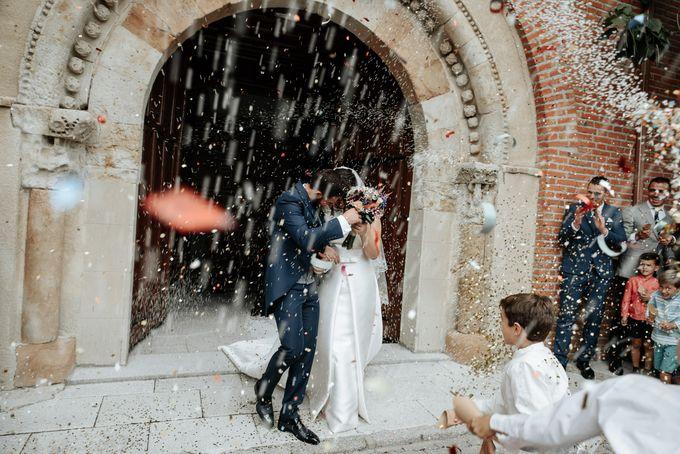 Arancha y Dany wedding in Salamanca of Spain by WedFotoNet - 010