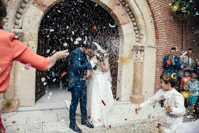 Arancha y Dany wedding in Salamanca of Spain by WedFotoNet - 011