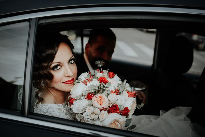 Nice Bride in the Car by WedFotoNet - 007