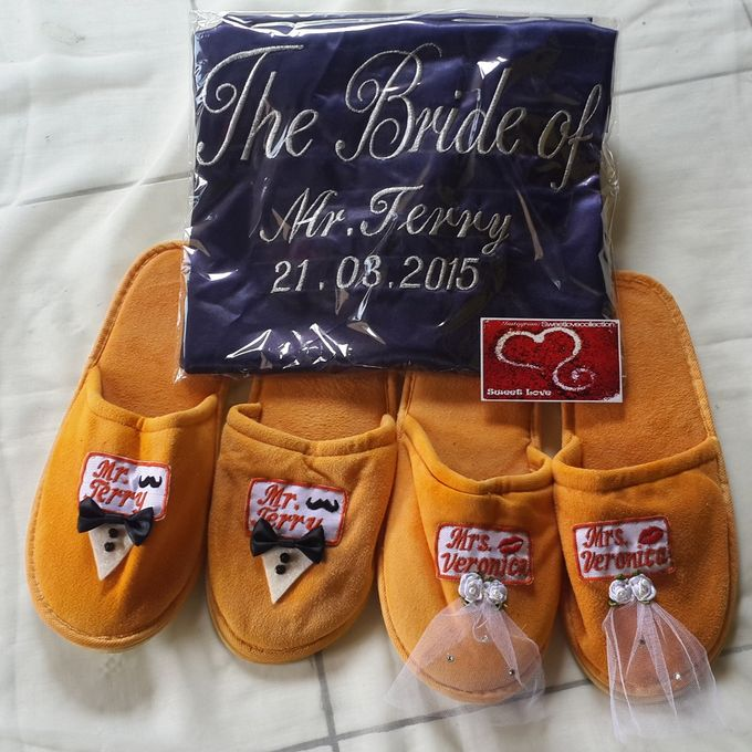 Wedding Slippers by Sweetlovecollection - 028