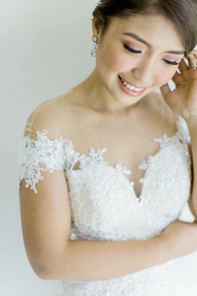 Bride: Michelle ❤️ by Nybie Ng Make Up Artistry - 007