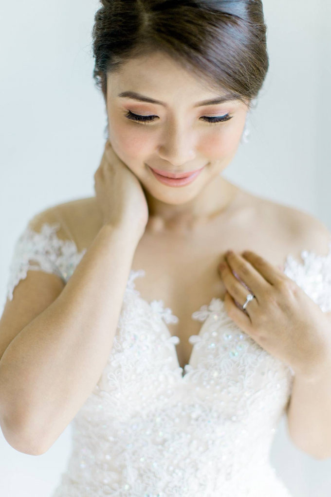 Bride: Michelle ❤️ by Nybie Ng Make Up Artistry - 008